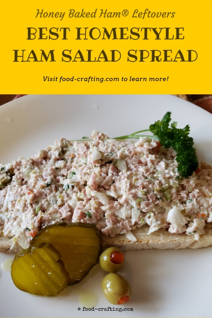 How To Make The Best Ham Salad - Have any leftover ham? As in the extra ham from the ham bone bean soup experiment. Make old fashioned ham salad the way it was made for the Farmer's Market! Several recipes to choose from including the one that serves 25.